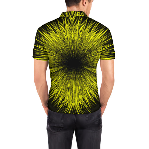 Мужская рубашка поло 3D  Фото 04, FC Borussia 2018 Abstract