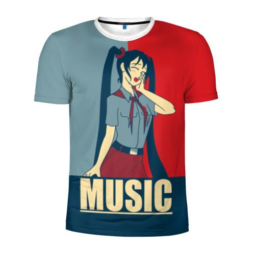 Мужская футболка 3D спортивная Everlasting Summer_3