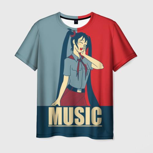 Мужская футболка 3D Everlasting Summer_3