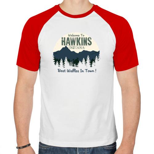 Мужская футболка реглан  Фото 01, Hawkins