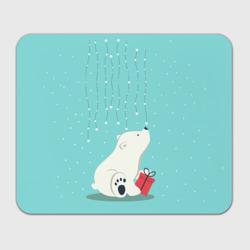 Медведь под снегом