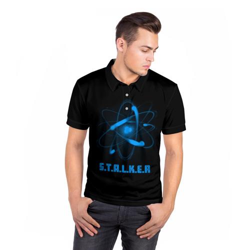 Мужская рубашка поло 3D  Фото 05, Сталкер