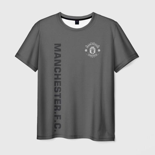 Мужская футболка 3D  Фото 01, F.C.M.U 2018 Vintage