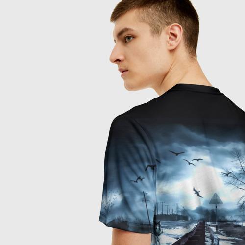 Мужская футболка 3D S.T.A.L.K.E.R. - А.Н.Т.О.Н. Фото 01