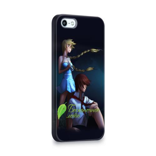 Чехол для Apple iPhone 5/5S 3D  Фото 02, Бесконечно лето