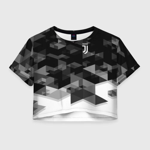 Женская футболка Cropp-top Juventus 2018 Geometry Sport