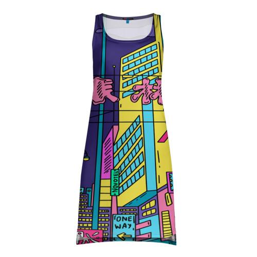 Платье-майка 3D  Фото 01, Токио