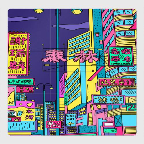 Магнитный плакат 3Х3 Токио
