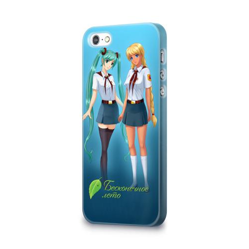 Чехол для Apple iPhone 5/5S 3D  Фото 03, Бесконечное лето _6