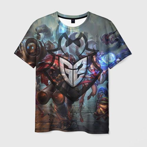 Мужская футболка 3D  Фото 03, G2 LOL