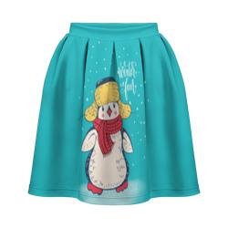 Пингвин в шарфе