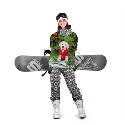 Накидка на куртку 3D  Фото 05, Новогодний щенок