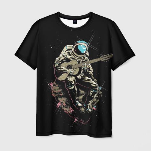 Мужская футболка 3D  Фото 01, Rock косманафт