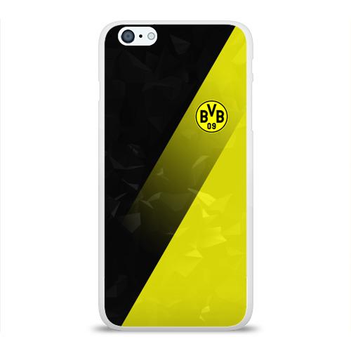 Чехол для Apple iPhone 6Plus/6SPlus силиконовый глянцевый  Фото 01, FC Borussia 2018 Элита