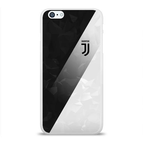 Чехол для Apple iPhone 6Plus/6SPlus силиконовый глянцевый  Фото 01, Juventus 2018 Элита
