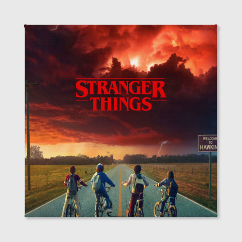 Холст квадратный Stranger Things Фото 01