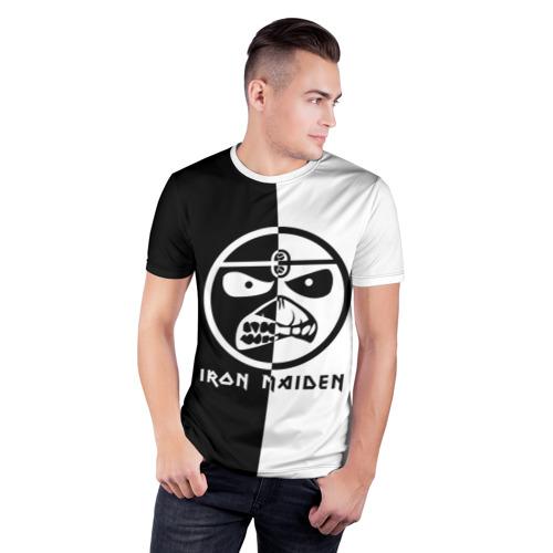 Мужская футболка 3D спортивная  Фото 03, Iron Maiden