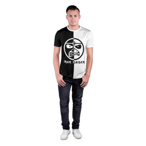 Мужская футболка 3D спортивная Iron Maiden