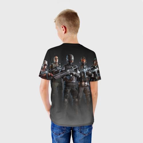 Детская футболка 3D  Фото 02, PUBG Soldiers