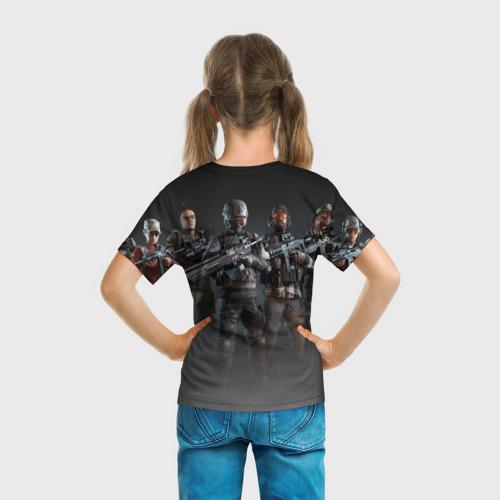 Детская футболка 3D  Фото 04, PUBG Soldiers