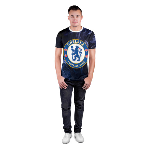 Мужская футболка 3D спортивная  Фото 04, Челси