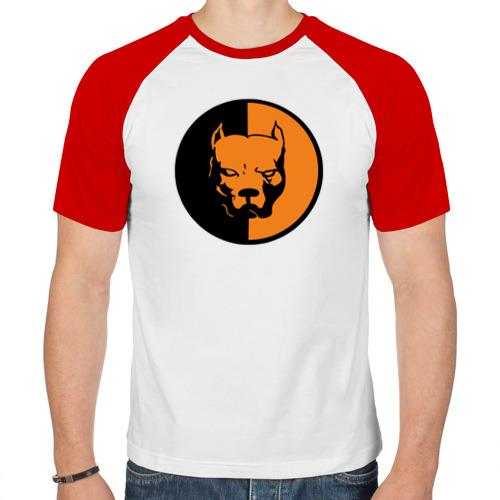 Мужская футболка реглан  Фото 01, Питбуль