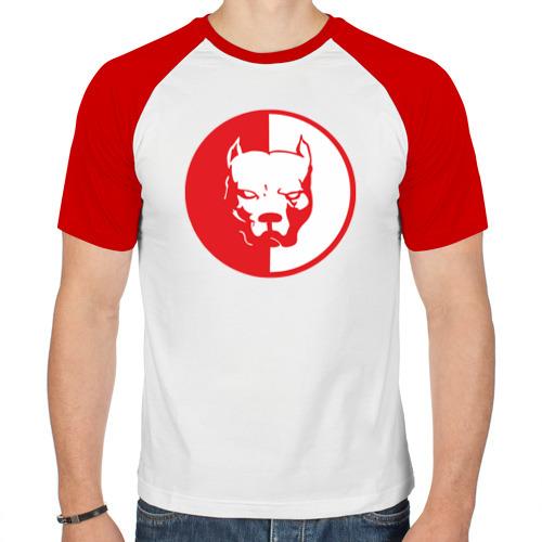 Мужская футболка реглан  Фото 01, Pitbull