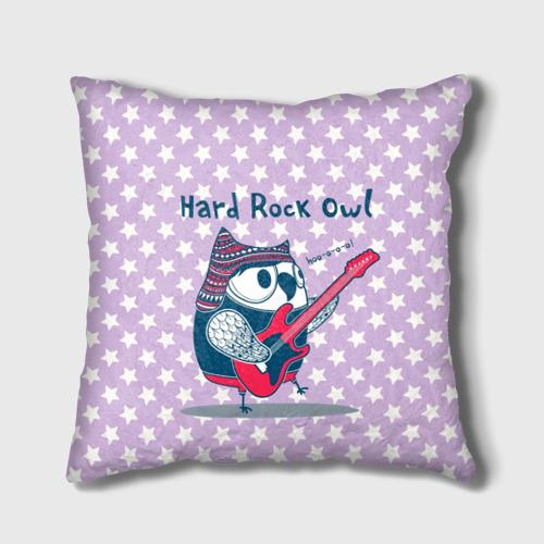 Подушка 3D  Фото 01, Hard rock owl