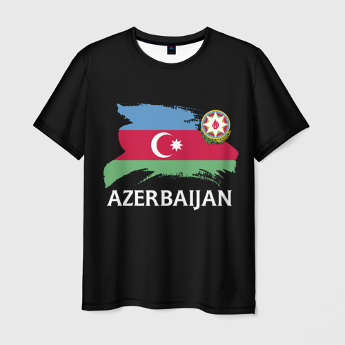 Мужская футболка 3D  Фото 01, Азербайджан