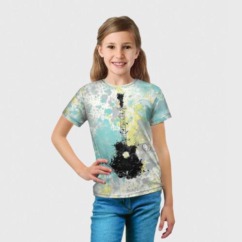 Детская футболка 3D  Фото 03, гитарист