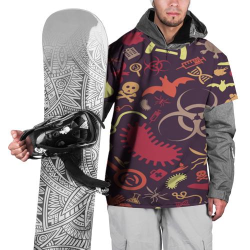 Накидка на куртку 3D  Фото 01, Био pattern