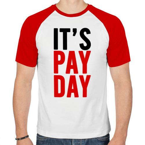 Мужская футболка реглан  Фото 01,  It's pay day