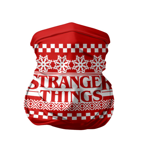 Бандана-труба 3D Свитер Stranger Things Фото 01