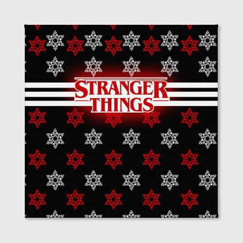Холст квадратный  Фото 02, Свитер Stranger Things Dark