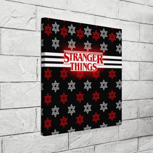 Холст квадратный  Фото 03, Свитер Stranger Things Dark