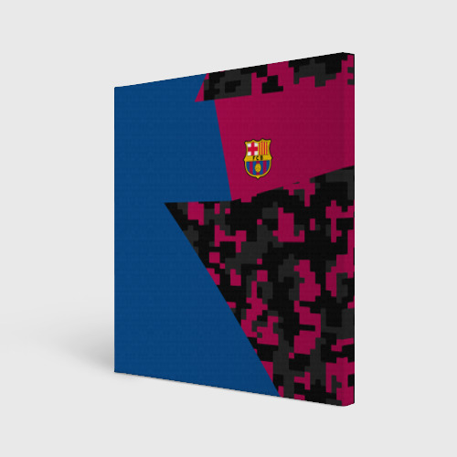 Холст квадратный FC Barca 2018 Creative uniform