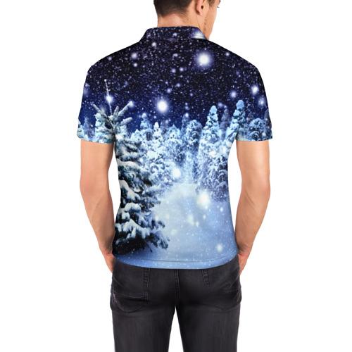 Мужская рубашка поло 3D  Фото 04, Милый зверёк
