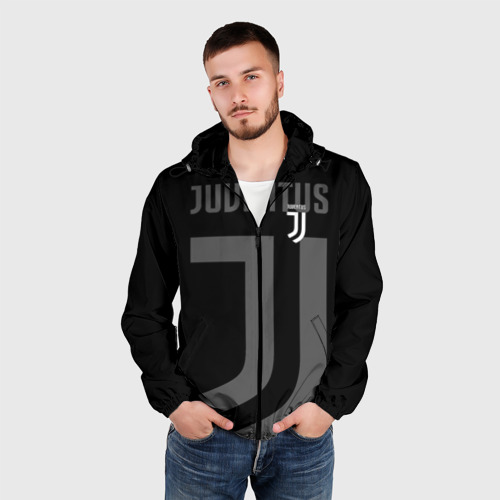 Мужская ветровка 3D Juventus 2018 Original Фото 01