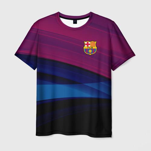 Мужская футболка 3D  Фото 03, FC Barca 2018 Original