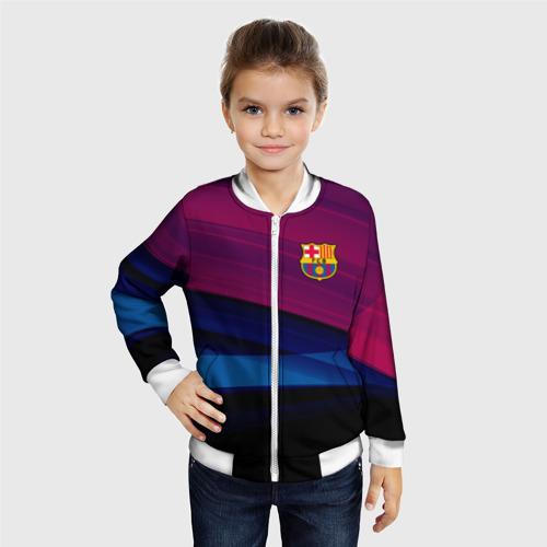 Детский бомбер 3D  Фото 06, FC Barca 2018 Original
