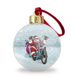 Санта Клаус байкер