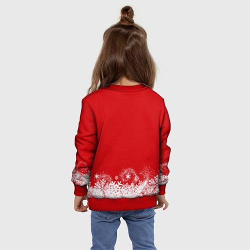 Детский свитшот 3D Олень в шарфике Фото 01