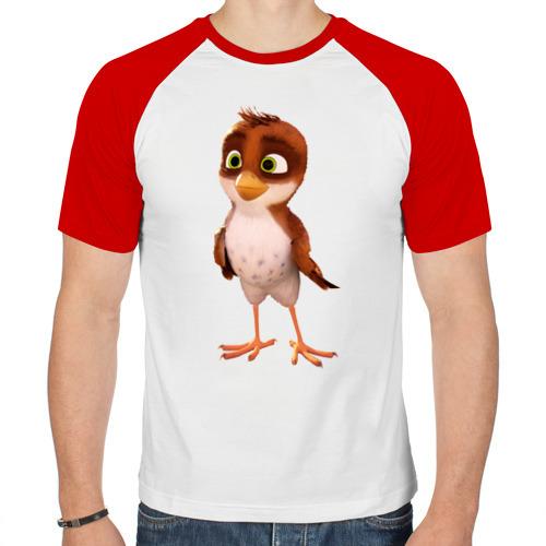 Мужская футболка реглан  Фото 01, Трио в перьях_5