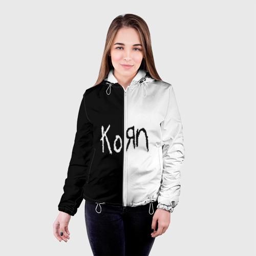 Женская куртка 3D  Фото 03, Korn