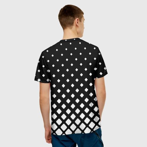 Мужская футболка 3D  Фото 02, геометрия