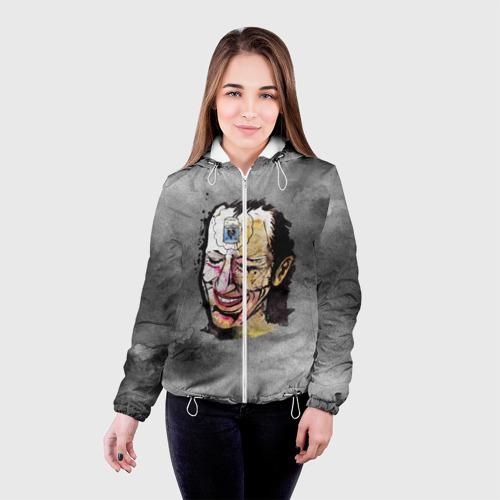 Женская куртка 3D  Фото 03, Кровосток