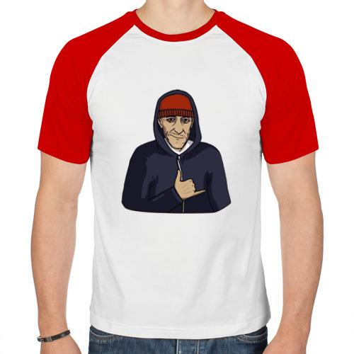 Мужская футболка реглан  Фото 01, Кровосток