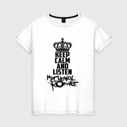 Keep calm and listen MCR