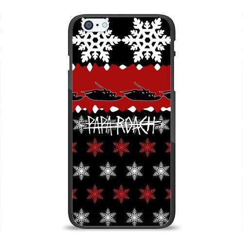 Чехол для Apple iPhone 6Plus/6SPlus силиконовый глянцевый  Фото 01, Праздничный Papa Roach