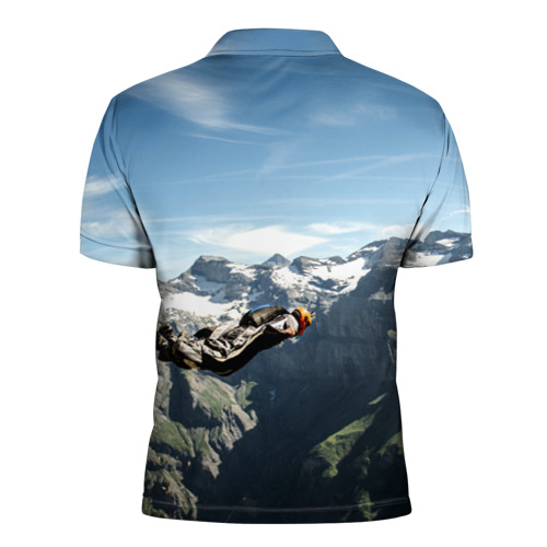 Мужская рубашка поло 3D  Фото 02, base jumping